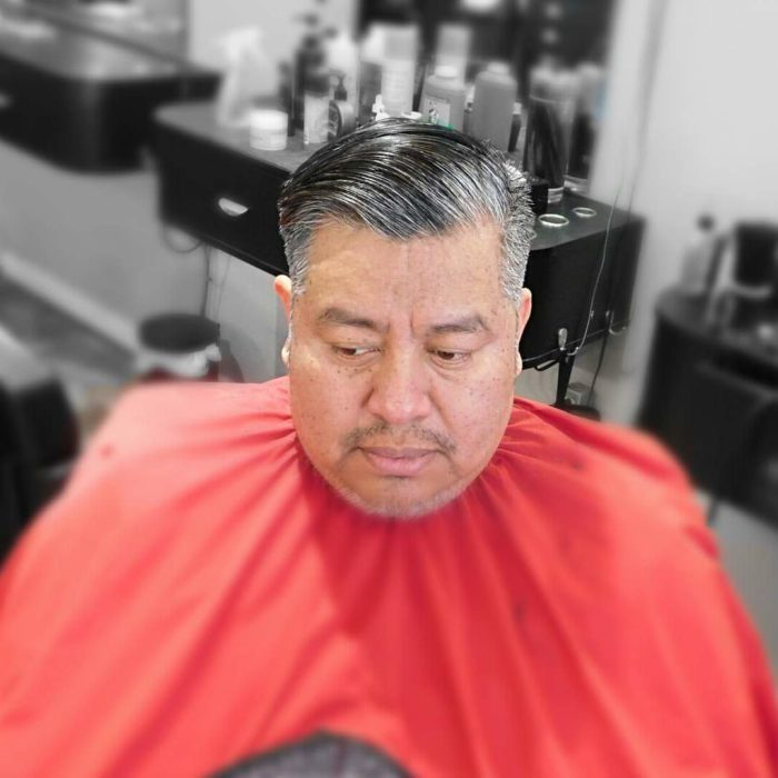 lox hair style by barber sample phoenixville